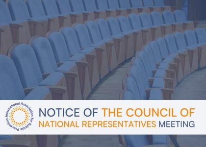 Notice of the Council of National Representatives Meeting